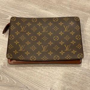 Authentic Louis Vuitton Pochette Homme clutch